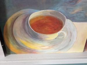 Teacup art by Maggie