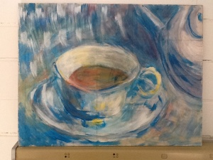 Teacup art by Maggie