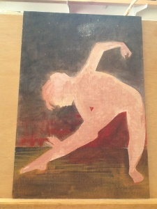 Painting of dancer by MaggieQui